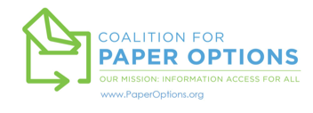 Coalition for Paper Options logo