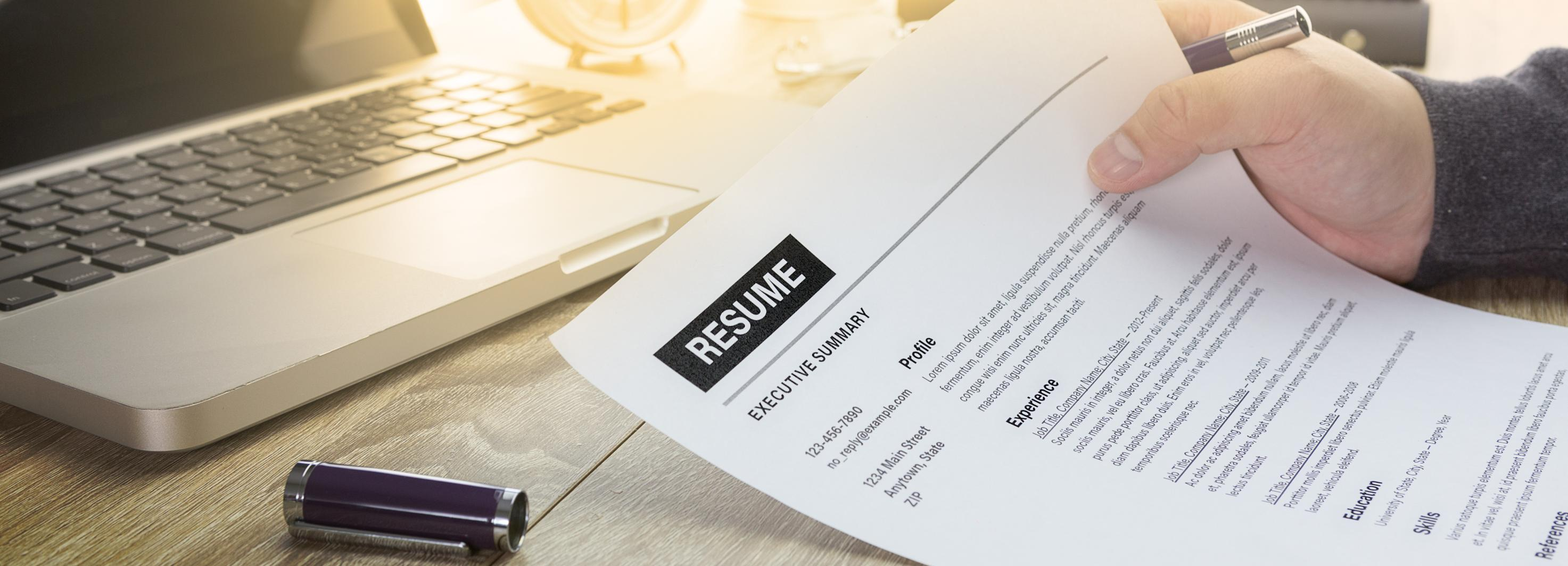 The Tried And True Paper Resume
